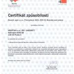 Certifikátzpůsobilosti Baumit